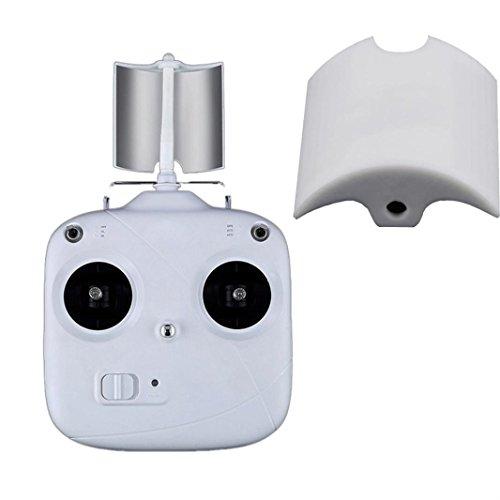 - Antenna Radio Signal Range Booster Extender Amplifier For DJI Phantom 3 Standard , Tuscom (White)