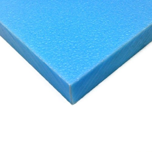 "HDPE / Sanatec (Plastic Cutting Board) Blue - 24"" x 24"" x..."