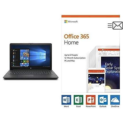 Amazon com: HP 15-inch Laptop, AMD A6-9225 Processor, 4 GB RAM With