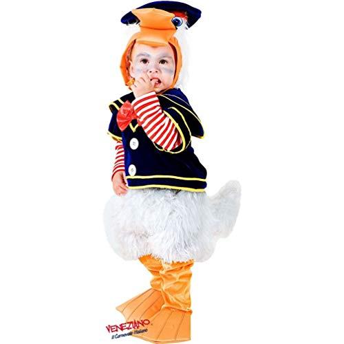 Deluxe Baby Duck Costume Toddler Child Donald Bird Quack Quack Sz -