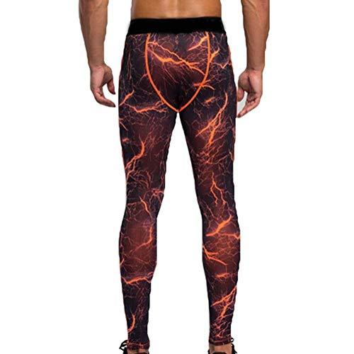 Pantaloni Corsa Fitness C Leggings Battercake Lavoro Termici Ciclismo Comodo Da Uomo Farbe qUxpt8