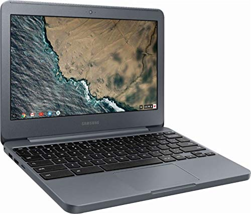 Samsung Chromebook 3 XE501C13-K01US, Intel Dual-Core Celeron N3060, 11.6'' HD, 2GB DDR3, 16GB eMMC, Night Charcoal by Samsung (Image #1)