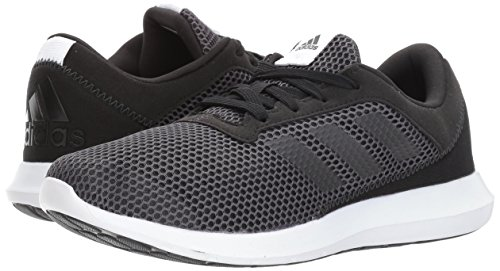 Adidas Performance Women's Element Refresh 3 w Running-Shoes, Black/Utility Black/Utility Black, 10 M US
