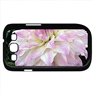 Pale Dahlia (Flowers Series) Watercolor style - Case Cover For Samsung Galaxy S3 i9300 (Black)