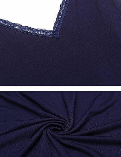 da notte Marineblau Donna Indumenti ADOME q5wRa1