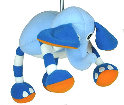 Blue Baby Elephant Spring Decoration Panopoly SP62