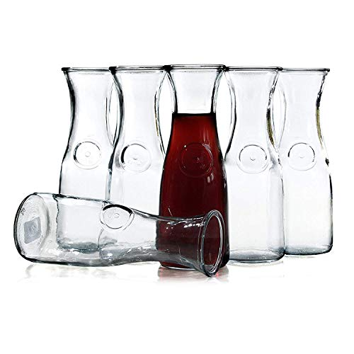 - Anchor Hocking Water or Wine Carafe, 1 Liter, Case of 6