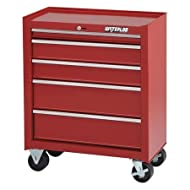This affordable 5-drawer cabinet offers storage for medium and small-sized items. 4 inch x 2 inch casters support a load of over 500 lbs.
