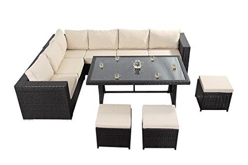 West country tavolo divano ad angolo consiste di un for Divano ad angolo grande