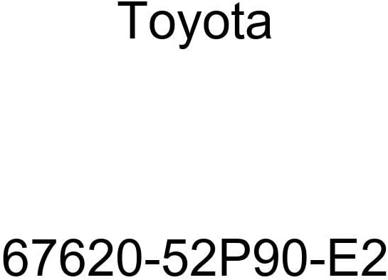 Genuine Toyota 67620-52P90-E2 Door Trim Board