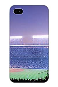 Iphone 4/4s Scratch-proof Protection Case Cover For Iphone/ Hot Baseball Cubs Chicago Illinois Usa Phone Case