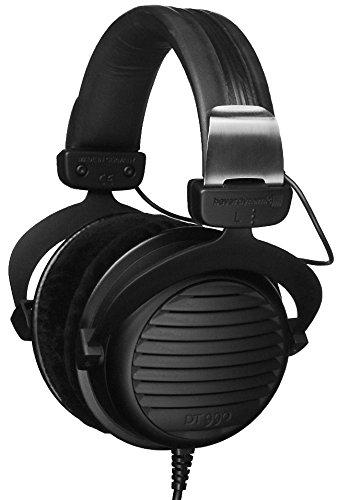 Beyerdynamic Black Headphone (Beyerdynamic DT 990 Premium 600 ohm - All Black Manufaktur Edition Over-ear Headphones)