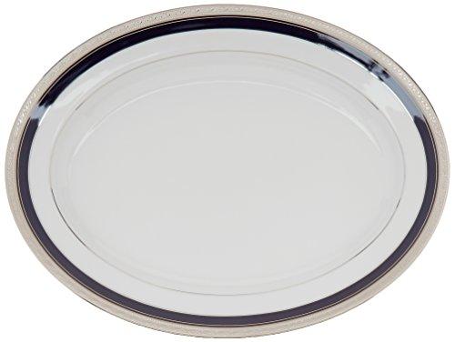 Platinum Crestwood (Noritake Crestwood Cobalt Platinum 16-Inch Oval Platter)