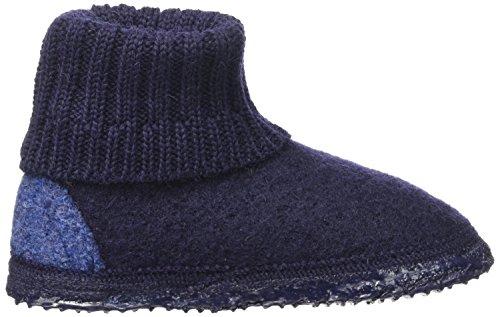 EU Montants Bleu Giesswein Ocean Enfant Doublé 36 Chaussons Chaud Mixte Kramsach Bleu 0ZRZxqw