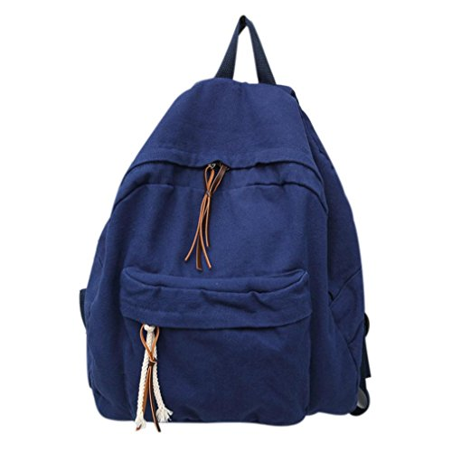 Black Men Bag Bags Cute School blue Canvas Book Backpack Backpack Dark School Women Teenagers Sunfei Men Women for gBFSnRZ