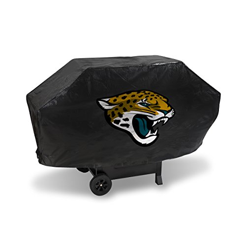 Rico Jacksonville Jaguars NFL DELUXE Heavy Duty BBQ Barbeque Grill ()