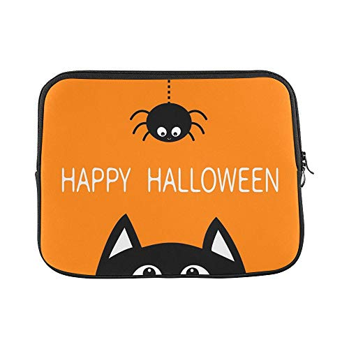 Design Custom Happy Halloween Black Cat Face Head