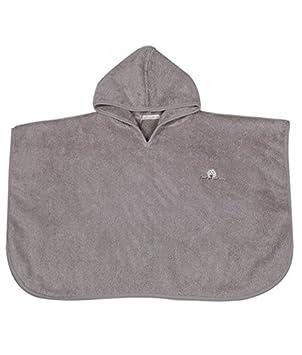 Poncho de ba/ño color gris Eveil et Nature
