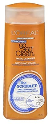L'Oreal Skin Expertise Go 360 Clean Anti-Breakout Facial Cleanser 6 oz
