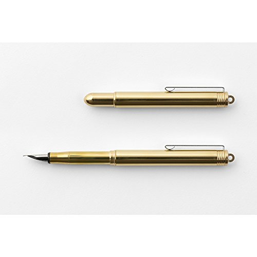 Traveler's company Brass Fountain Pen by Designphil (Image #1)