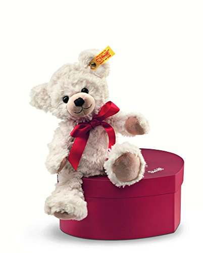 Steiff Sweetheart Teddy Bear Plush, Cream