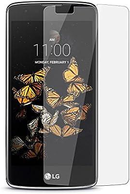 LG K8 4g - Protector de pantalla de Cristal Templado Anti Rasguños ...