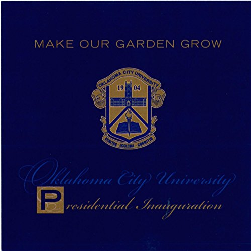 Amazon Com Make Our Garden Grow Oklahoma City University