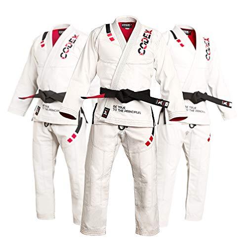 Codex Fight Gear BJJ Gi Brazilian Jiu Jitsu Kimono A4 Ultralight Pearl Weave Preshrunk Fabric Jiu Jitsu Man Uniforms