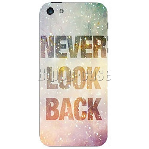 COQUE PROTECTION TELEPHONE Iphone 5 ET 5S - NEVER LOOK BACK
