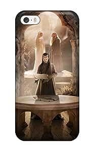 AnnaSanders IZJHoEt70tWOeL Protective Case For Iphone 5/5s(the Hobbit Elrond Peter Jackson Gangalfs People Movie)