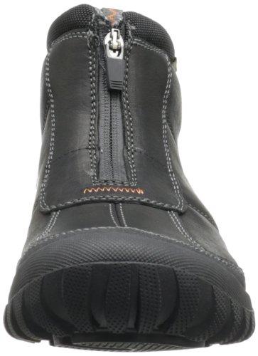 Clarks Men S Archeo Zip Snow Boot Black Leather 10 M Us