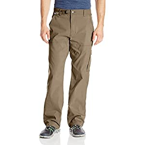 "prAna Men's Stretch Zion 32"" Inseam Pants, Mud, Size 32"