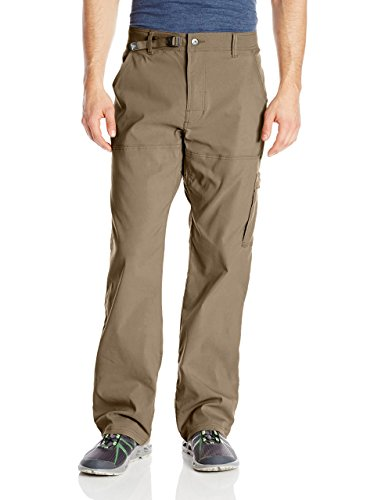 prAna Men's Stretch Zion 32' Inseam Pants, Mud, Size 32