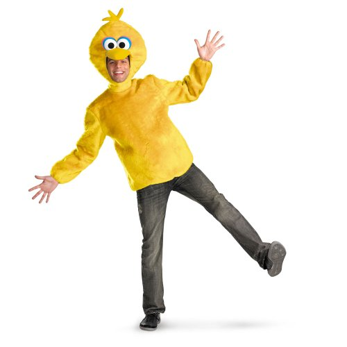 [DIS50631 Big Bird Adult Sesame Street Costume] (Big Bird Male Costumes)