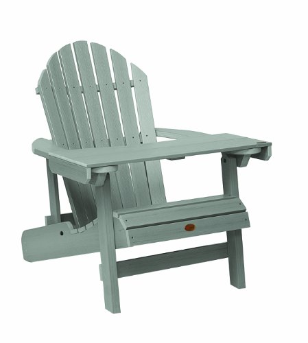 Adirondack Chairs Mailbox (Highwood Adirondack Laptop/Reading Table, Coastal Teak)