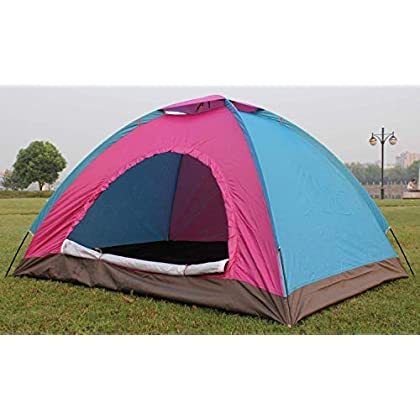 Doliva 8 Person Camping Big Horn Tent Waterproof Backpacking Double Layer Tents for Outdoor Sports Set of 1 Pcs (Color…
