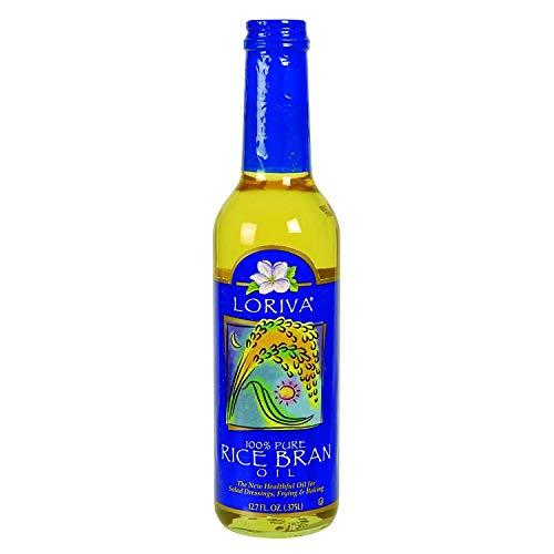 Loriva Rice Bran Oil - 100 Percent Pure - 12.7 Ounce , United States,