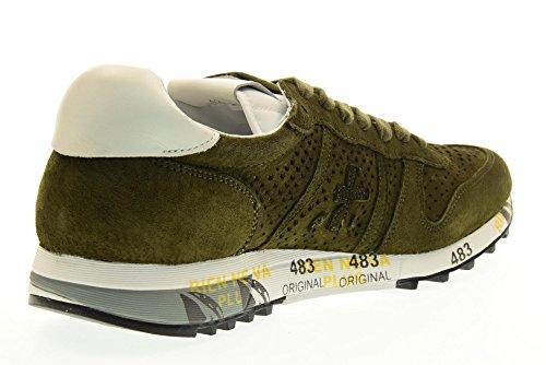 PREMIATA el hombre bajas zapatillas de deporte 2120 ERIC talla 44 Green