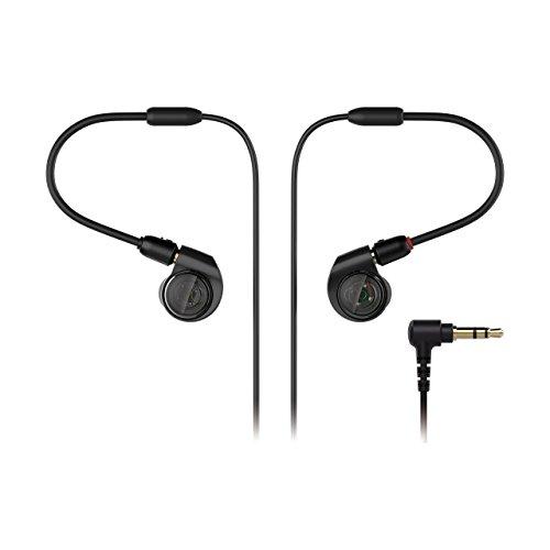 Audio-Technica ATH-E40 Professional In-Ear Monitor Headphones (Renewed)