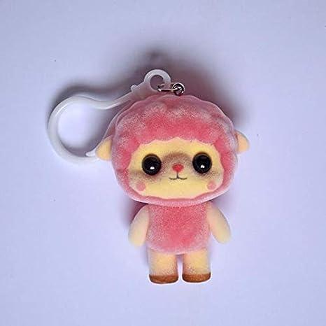 Amazon.com: VKISI - Llavero de peluche para muñeca, 2.6 in ...
