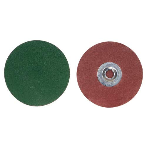 2'' × 1/4'' GreenLyte Plus SG F986 Fiber Disc Type TR/III 80 Grit Ceramic Alumina (Pack of 100)