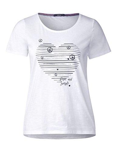 Bianco Cecil Shirt 20000 T Donna White xzzSw8nqrt
