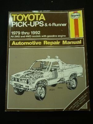 Toyota Pickup 1979 to 1992