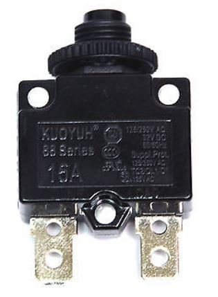 Price comparison product image KUOYUH Circuit Breaker 88 series 125 / 250VAC 50 / 60Hz (1pc) (15A)