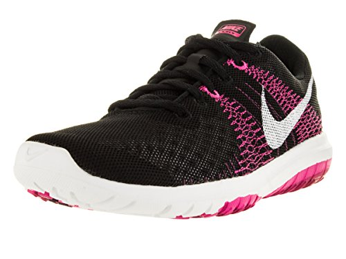 Running Flex White Shoe Sprt Fchs Fury Foil Black Pink 5qwq4fF61