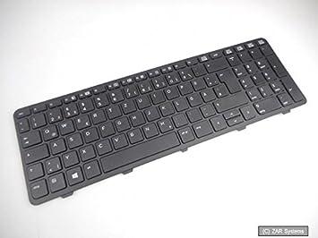 Original HP 738696 - 041 Teclado, Teclado alemán (QWERTZ) para ProBook 650, 645: Amazon.es: Informática