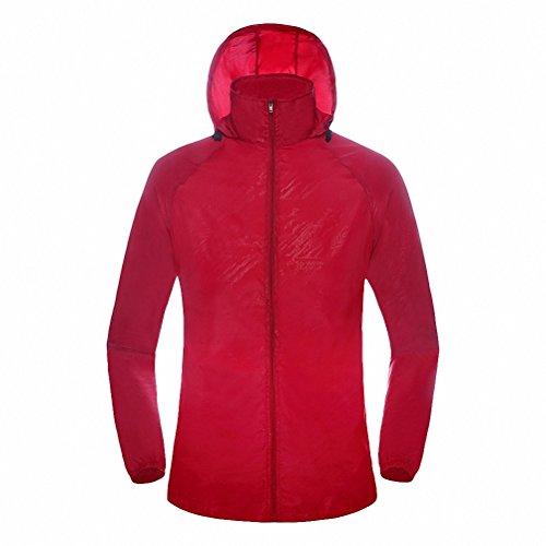 maoko-sports-outdoor-running-windbreaker-jacket-with-hood-lightweight-sun-uv-protection-red