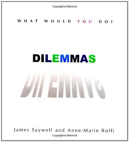 Dilemmas: What Would you Do?