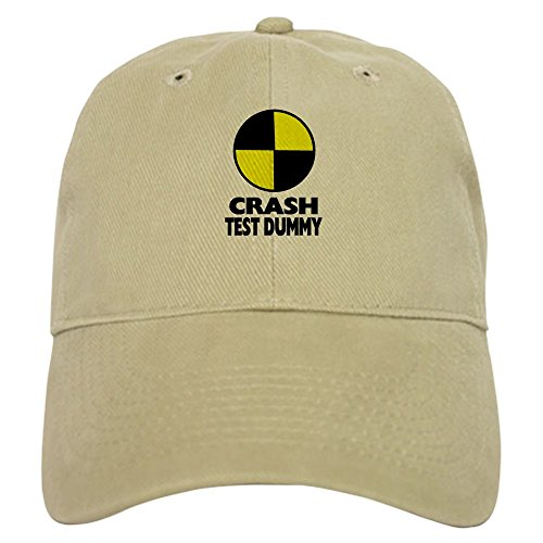 CafePress - Crash Test Dummy Cap - Baseball Cap with Adjustable Closure, Unique Printed Baseball Hat -