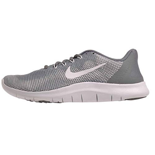 Nike Kids Flex 2018 Rn (Gs) Running Shoes Boys/Girls Style: AH3438-002 Size: 7 Cool Grey/White